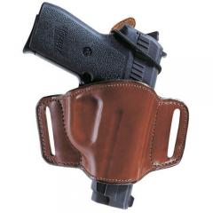 bianchi 105 minimalist leather belt slot holster