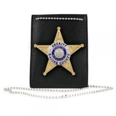 Boston Leather 5845-1 Undercover Neck Chain Badge and ID ...  Boston Leather ...