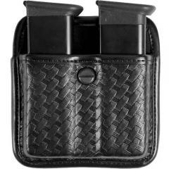 Gould /& Goodrich K617-3 Double Magazine Pouch Plain Black Fits Beretta 8000D