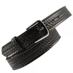 leather belt,black italian leather belt