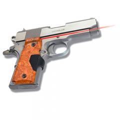 LG-404 P1 Pro-Custom Burlwood Laser Grips for 1911 Compact