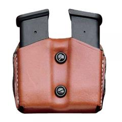 A01 Leather Double Magazine Pouch
