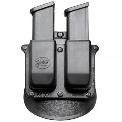 Double Magazine And Handcuff Holder Fobus Paddle Style Double Magazine Pouch 41