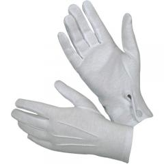 Hatch White Cotton Dress Gloves - Class A Parade Style
