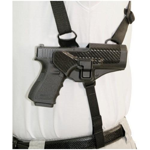 3XL 41SH01BK BlackHawk Serpa Shoulder Holster Platform Right Handed X-Large